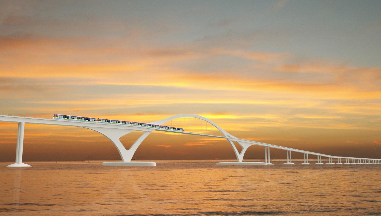 IJmeerlijn - brug over het IJ