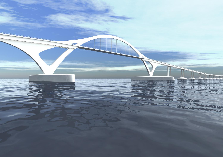 ijmeer brug Amsterdam-Almere