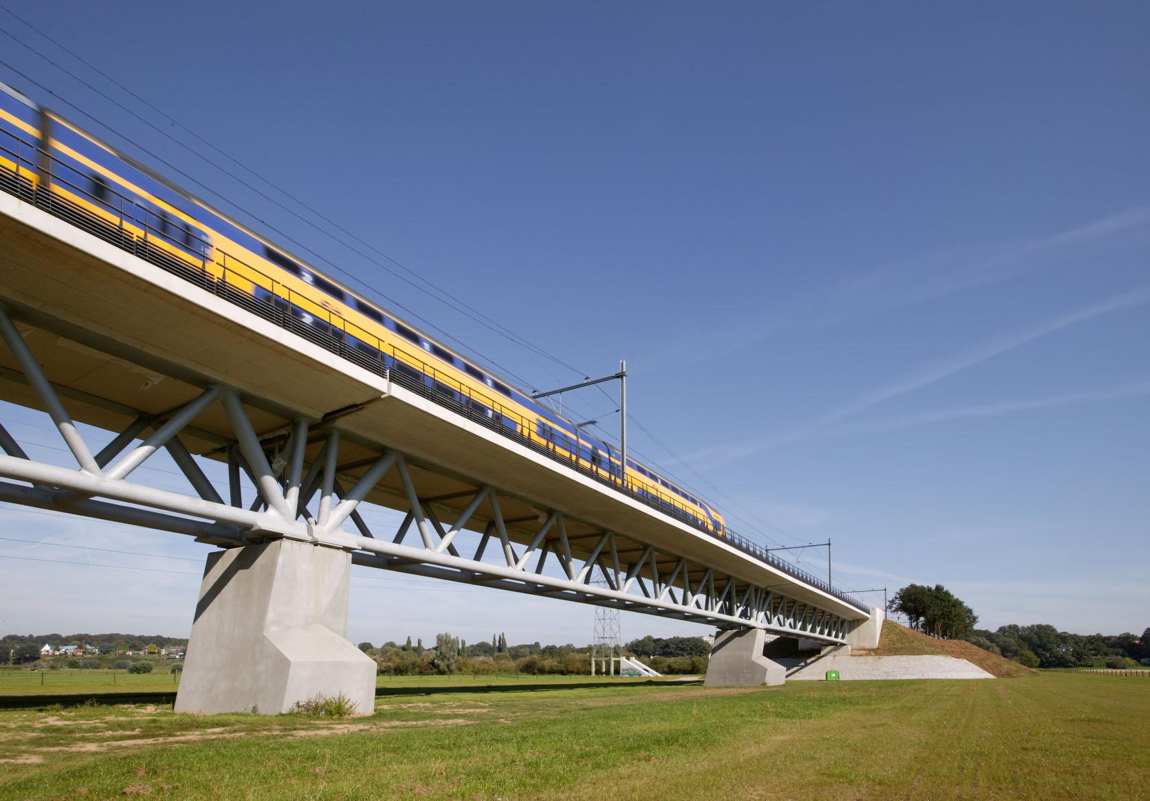 spoorbrug Oosterbeek