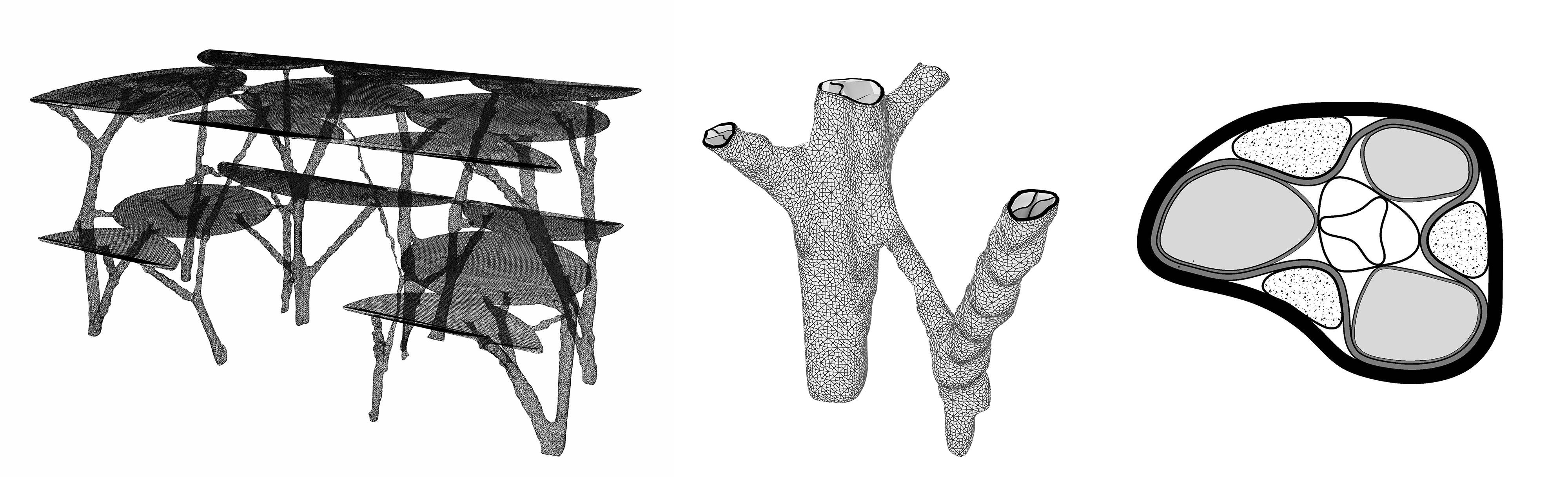 Bomenkantoor, 3D Betonprint challenge 2015; 2e prijs