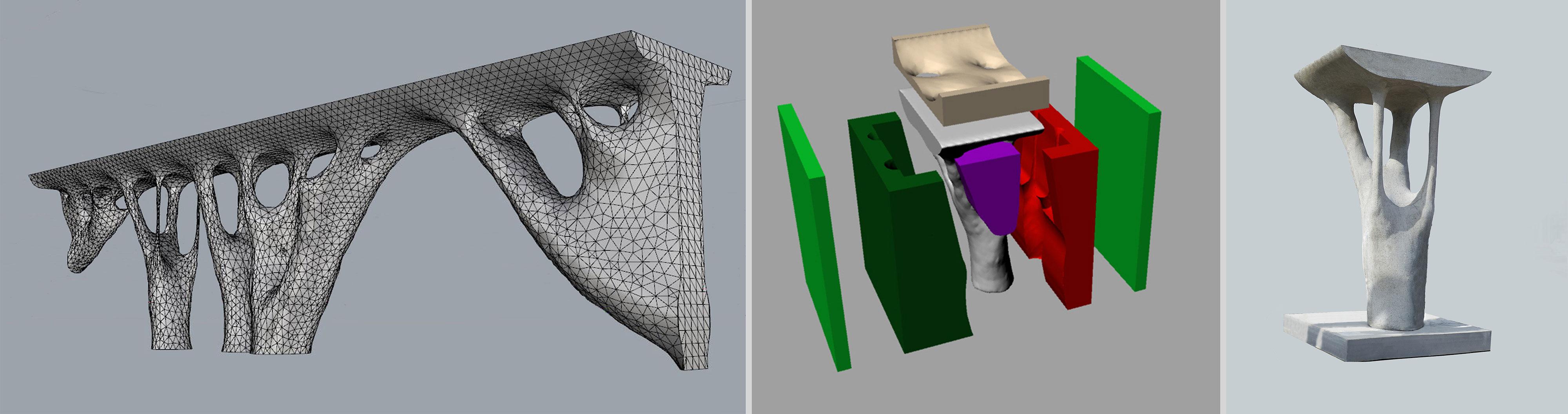 Eso Concrete Design, Fietsbrug 2014-2015 i.s.m. TU/e & Cement en Betoncentrum