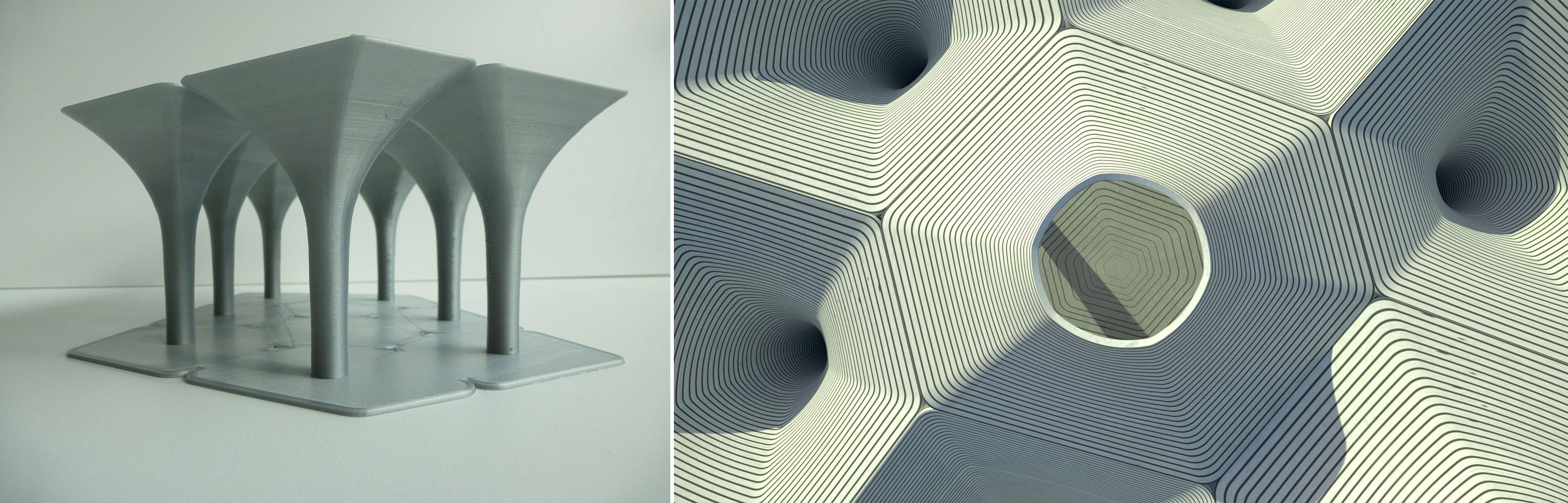 3D Betonprint Paviljoen, 2016, i.s.m. Bruil en StudioRAP