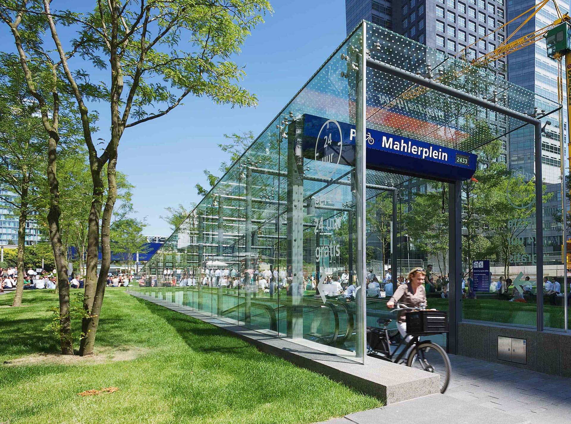 Ondergrondse fietsenstalling Amsterdam Mahlerplein - i.s.m. BAM