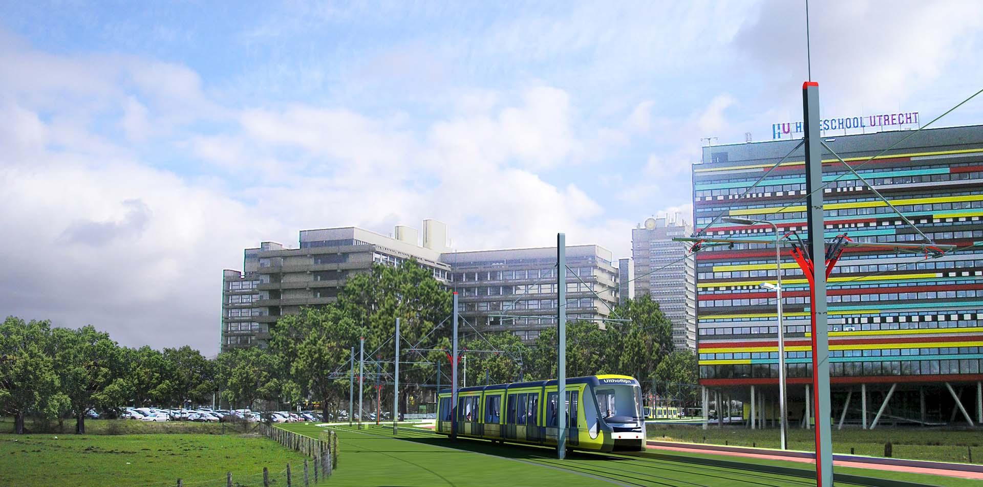 Uithoflijn & Transferium P+R De Uithof