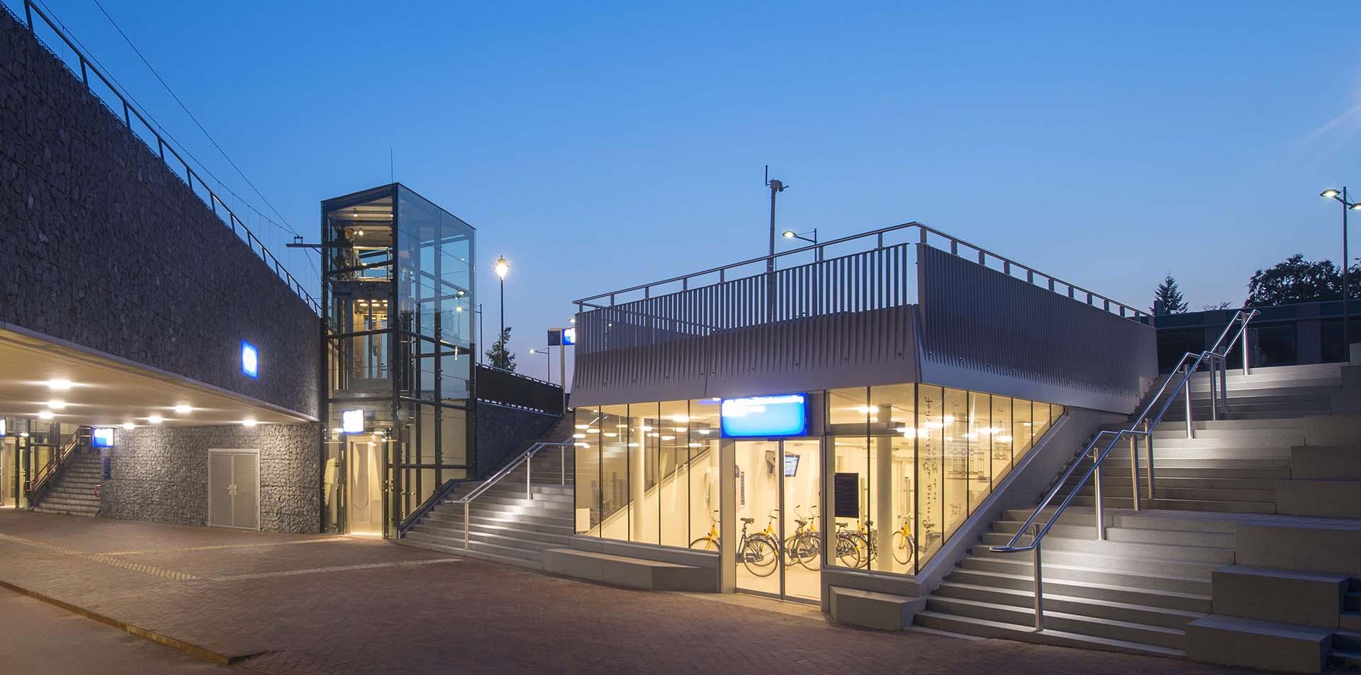 Ondergrondse fietsenstalling Bilthoven