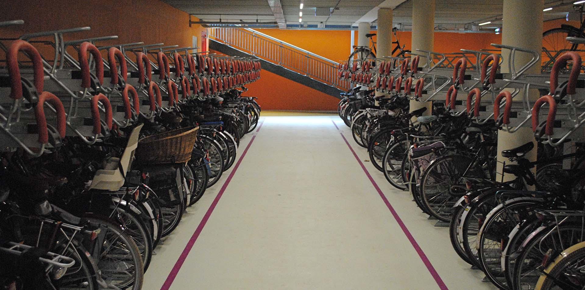 Ondergrondse fietsenstalling Helmond