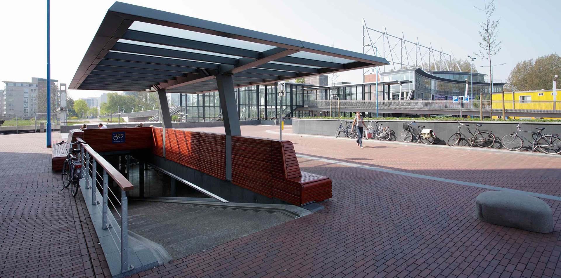 Ondergrondse fietsenstalling Zoetermeer