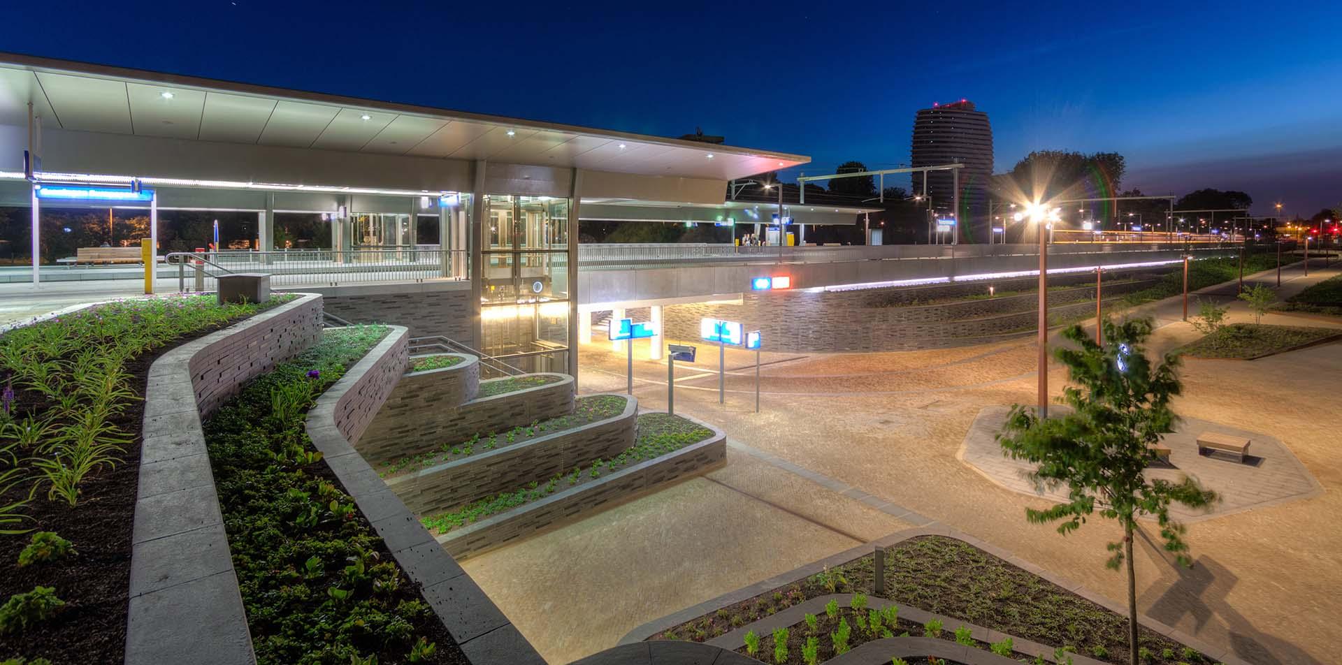 station Groningen Europapark