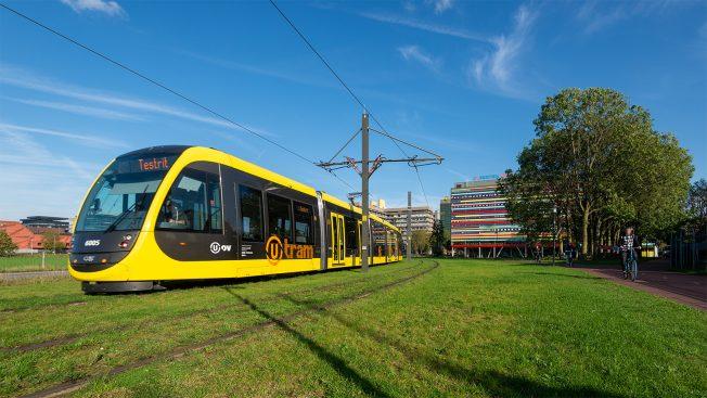 nieuwe tram van de Uithoflijn 22