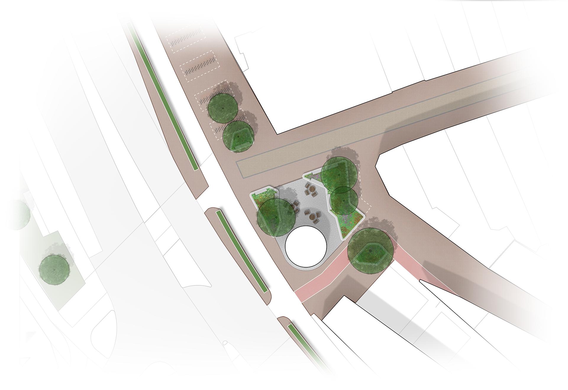 Inrichtingsvoorstel plein Utrechtsestraat Amersfoort